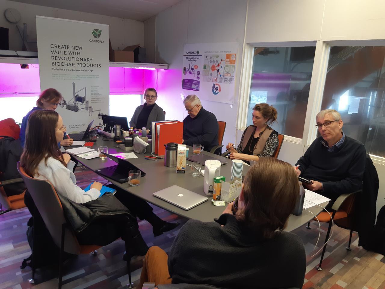 Carbofex audit meeting