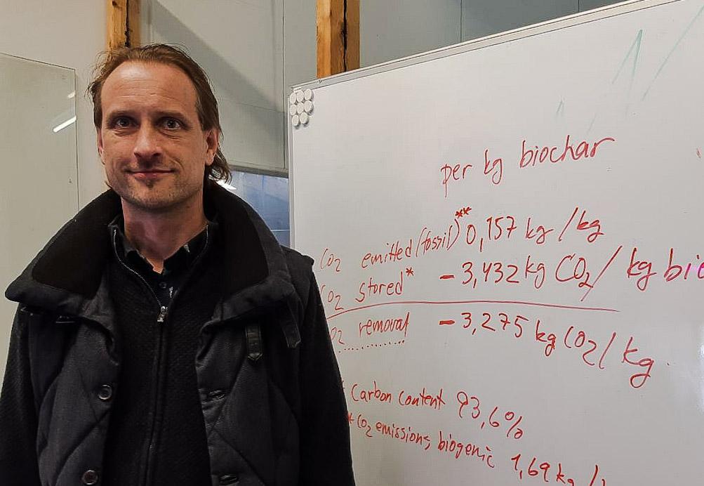Biochar net-negativity calculations